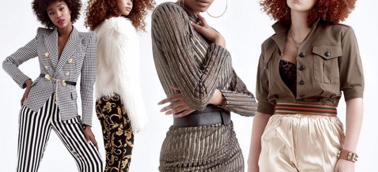 Prstýnkové lokny v afro stylu