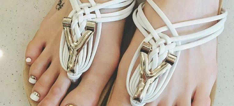 Tipy na top design nehtů na nohou – 1. díl