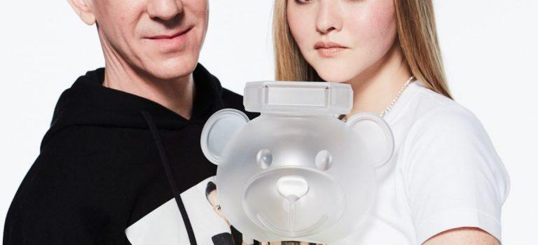 Parfém ve tvaru medvídka