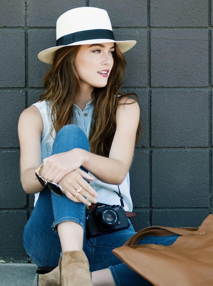 Iveta Sunshaded nechte na hlavě – panama klobouky frčí! | johairstar magazín