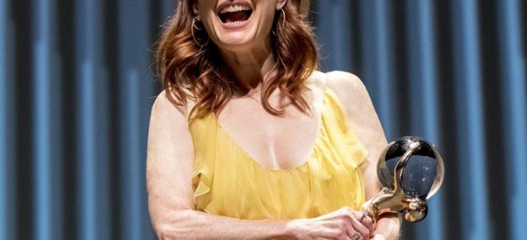 Julianne Moore září v Karlových Varech
