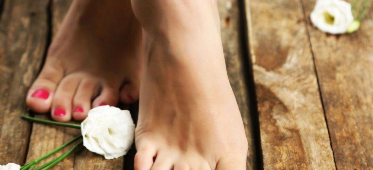 Dokonalá pedikúra do sandálků