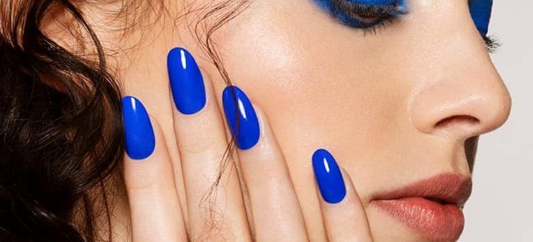 Modrá euforie pro vaše nehty