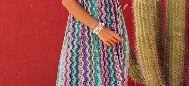 Rozevlátá bohémská móda pro etno divu