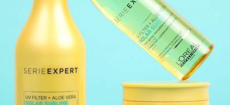 Ochrana vlasů před sluncem s aloe vera