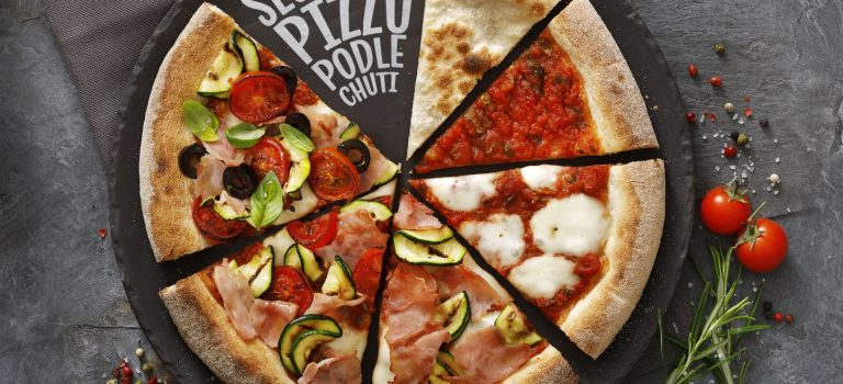 Vymyslete si vlastní pizzu