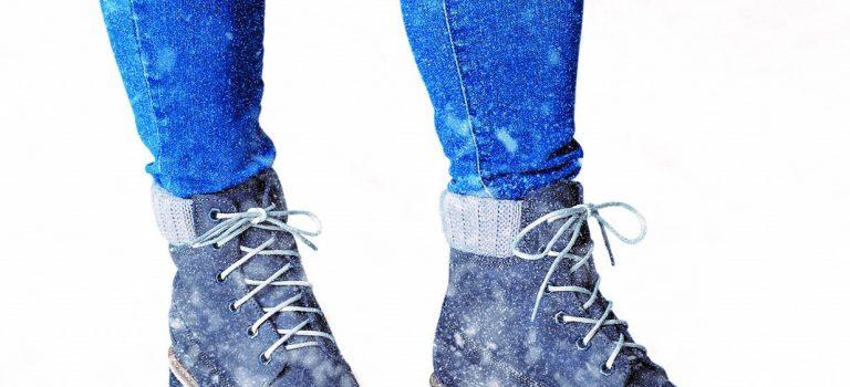 Kožená obuv pro chladné dny