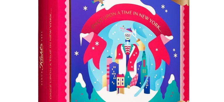 Janine Rewell a vánoční obaly pro Kiehl's