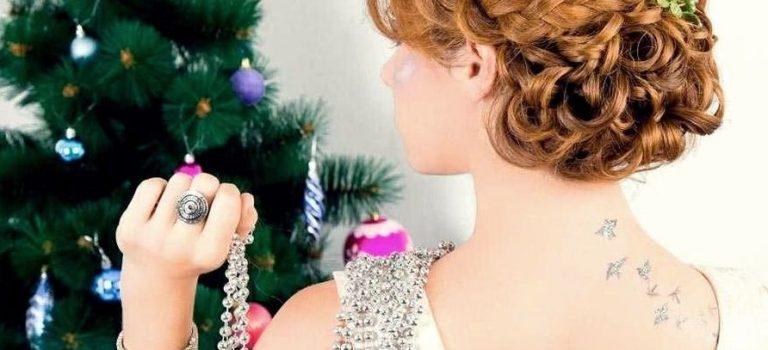 Rychlé vánoční účesy