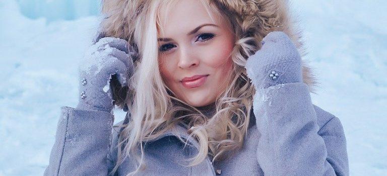 Zdravé vlasy a pokožka v zimě