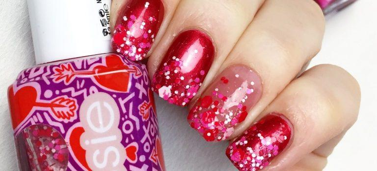 Valentýnská kolekce laků na nehty
