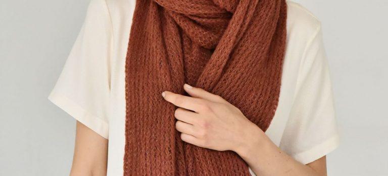 Hřejivá náruč šálu ochrání před chladem