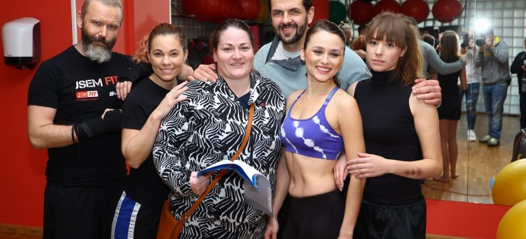 Michaela Nosková s partnerem učí herečky sebeobraně!
