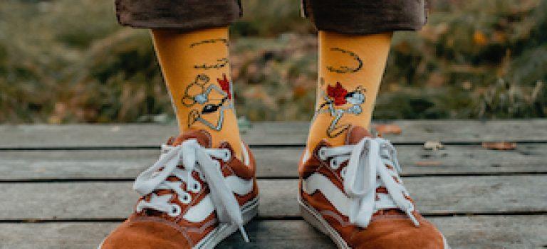 Ponožky z pohádkové kolekce