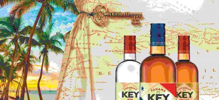 Klíč do Karibiku, to je Key Rum. Přichází vnovém designu a nové lahvi.
