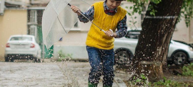 Ani déšť legraci nepřekazí